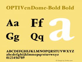 OPTIVenDome-Bold