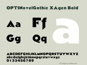 OPTINovelGothic XAgen
