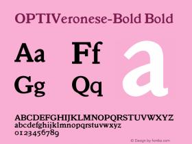 OPTIVeronese-Bold