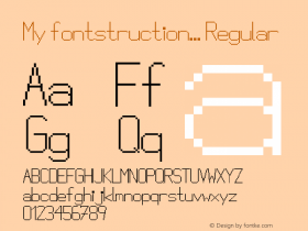 My fontstruction...