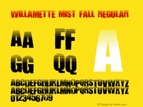 Willamette Mist Fall