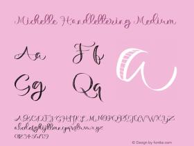 Michelle Handlettering