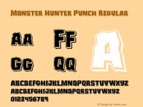 Monster Hunter Punch