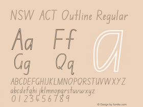 NSW ACT Outline