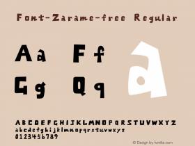 Font-Zarame-free