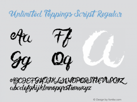 Unlimited Toppings Script
