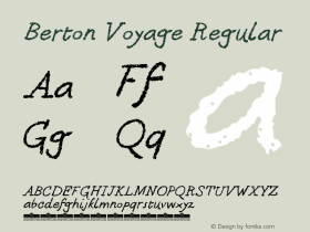 Berton Voyage