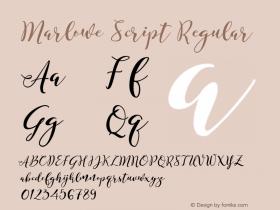 Marlowe Script