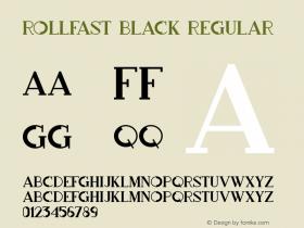 Rollfast Black
