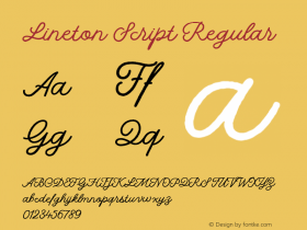 Lineton Script