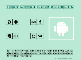 font icons 2018