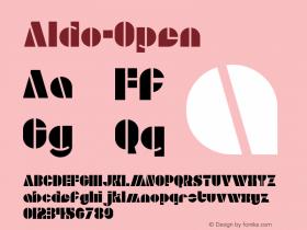 Aldo-Open