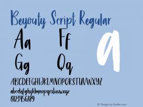 Beyouty Script