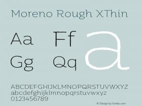 Moreno Rough