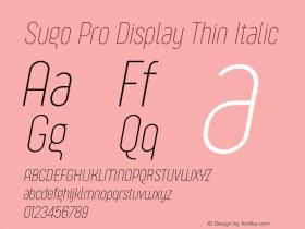 Sugo Pro Display