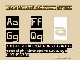 GREAT ADVENTURE-Inverse