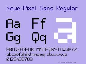 Neue Pixel Sans