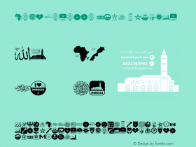 Font Morocco 2018
