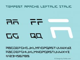 Tempest Apache Leftalic