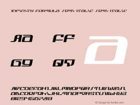 Infinity Formula Semi-Italic