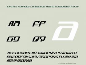 Infinity Formula Condensed Italic