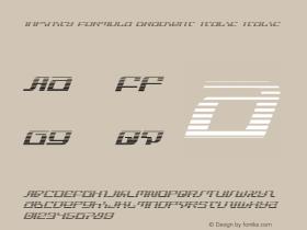 Infinity Formula Gradient Italic