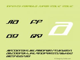 Infinity Formula Super-Italic