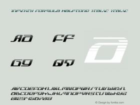 Infinity Formula Halftone Italic