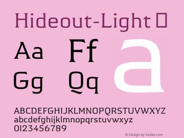 Hideout-Light