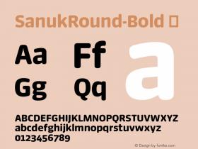 SanukRound-Bold