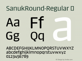 SanukRound-Regular