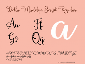 Bella Madelyn Script