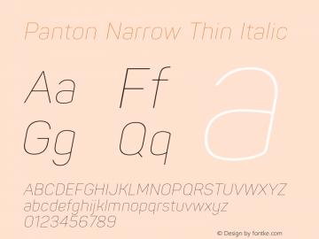 Panton Narrow