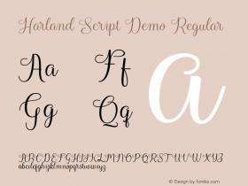 Harland Script Demo