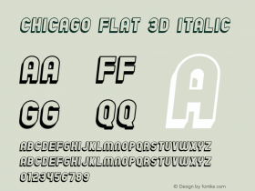 Chicago Flat 3D