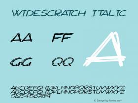 Widescratch