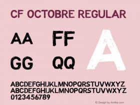 CF Octobre