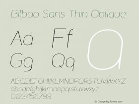 Bilbao Sans