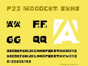 P22 Woodcut