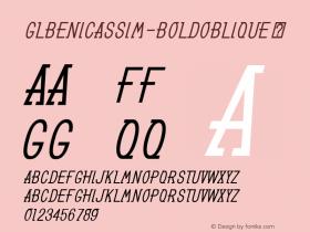 GLBenicassim-BoldOblique