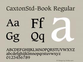 CaxtonStd-Book