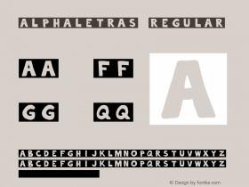 alphaletras