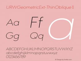 URWGeometricExt-ThinOblique