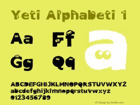 Yeti Alphabeti