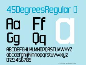 45DegreesRegular
