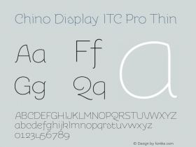 Chino Display ITC Pro