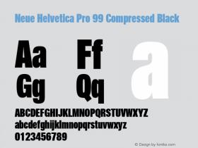 Neue Helvetica Pro