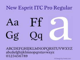 New Esprit ITC Pro
