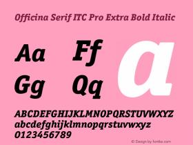 Officina Serif ITC Pro
