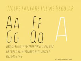 Wolpe Fanfare Inline